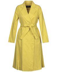 Brian Dales Overcoat - Yellow