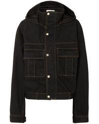 Matthew Adams Dolan Denim Outerwear - Black