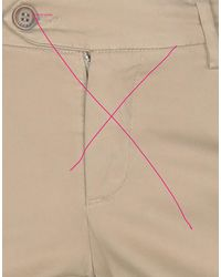 Roy Rogers Casual Trouser - Natural