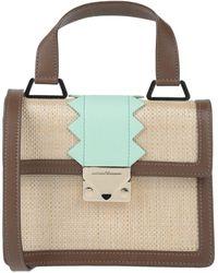 Emporio Armani Handbag - Natural