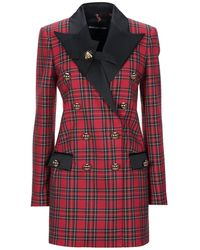 Marco Bologna Suit Jacket - Red