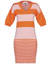 Vivienne Westwood Minivestido - Naranja