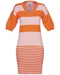 Vivienne Westwood Short Dress - Orange