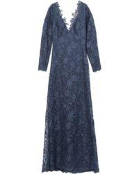 Tadashi Shoji Vestito lungo - Blu