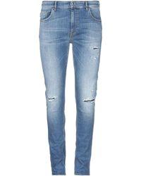 Love Moschino Pantalon en jean - Bleu