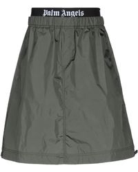 Palm Angels Knee Length Skirt - Multicolor