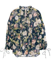 Alice + Olivia Blouse - Blue