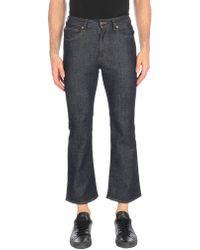 Mauro Grifoni Pantalon en jean - Bleu