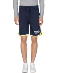 Russell Athletic Bermuda Shorts - Blue