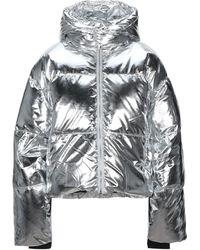 Juicy Couture Down Jacket - Metallic