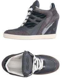 Katie Grand Loves Hogan High-tops & Trainers - Grey