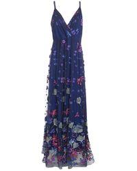 Elie Tahari Long Dress - Blue