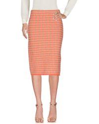 Stizzoli - 3/4 Length Skirt - Lyst