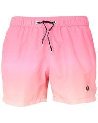 La Martina Swim Trunks - Pink