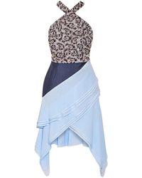 Antonio Berardi Short Dress - Blue