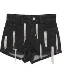 Amen Denim Shorts - Black