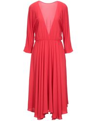 Jucca 3/4 Length Dress - Red