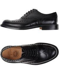 Cheaney Zapatos de cordones - Negro