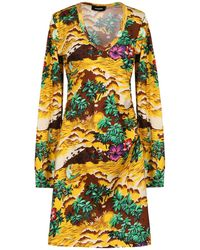 DSquared² Short Dress - Yellow