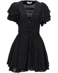 WEILI ZHENG Short Dress - Black