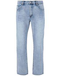 8 by YOOX Pantalon en jean - Bleu