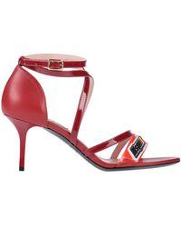 MSGM Sandals - Red