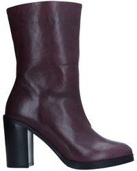 Royal Republiq Ankle Boots - Purple