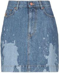 Vivienne Westwood Anglomania Jupe en jean - Bleu