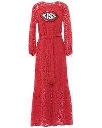 History Repeats Long Dress - Red