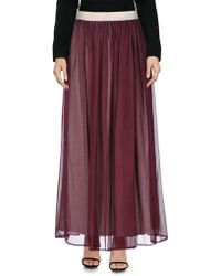 Silvian Heach Long Skirt - Purple