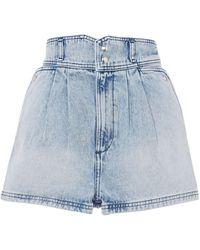 IRO Shorts jeans - Blu