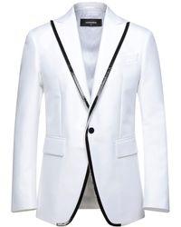 DSquared² Suit Jacket - White