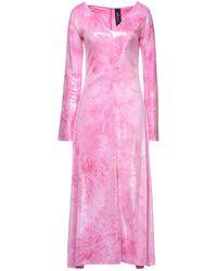 Paula Knorr Midi Dress - Pink