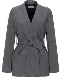 Stefanel Suit Jacket - Grey