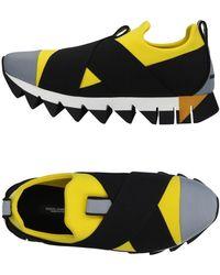 Dolce & Gabbana Low Sneakers & Tennisschuhe - Gelb