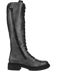 Bikkembergs Knee Boots - Grey