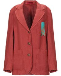 The Gigi Suit Jacket - Red