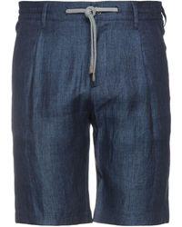 Eleventy Shorts & Bermuda Shorts - Blue