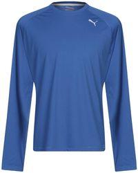 PUMA T-shirts - Blau