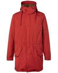 Aspesi Overcoat - Red
