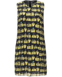 Boutique Moschino - Perfume Pattern Dress - Lyst