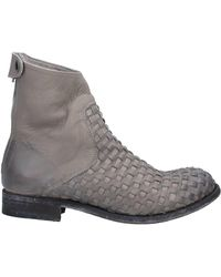 The Last Conspiracy Ankle Boots - Gray