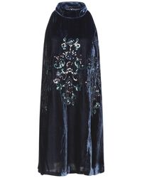 Free People Short Dress - Blue