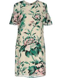 Burberry - Short Dress - Lyst