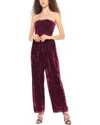 Souvenir Clubbing Jumpsuit - Purple
