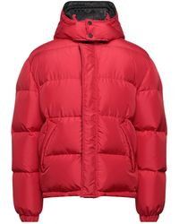MSGM Down Jacket - Red