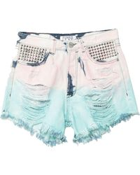 Pinko - Short en jean - Lyst
