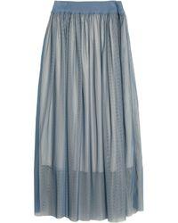 Bruno Manetti Long Skirt - Blue