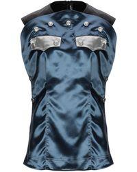 CALVIN KLEIN 205W39NYC Top - Blau