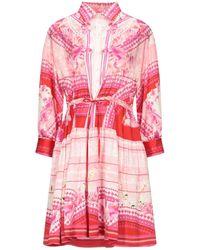 Piccione.piccione Short Dress - Pink